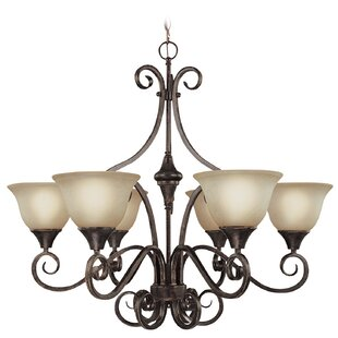 Wiliams 6-Light Shaded Chandelier