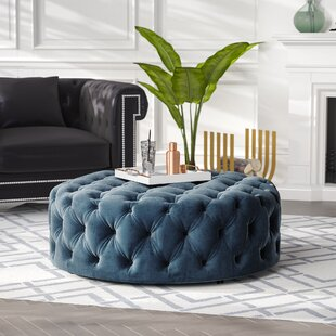 Koffler Tufted Cocktail Ottoman by House of Hampton