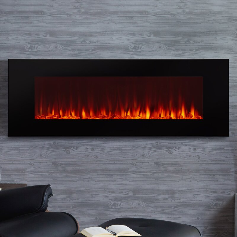 Real Flame Dinatale Wall Mounted Electric Fireplace