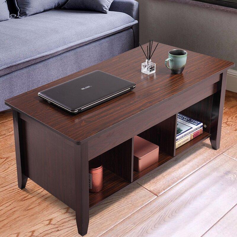 Latitude Run Kiah Lift Top Coffee Table Reviews Wayfair