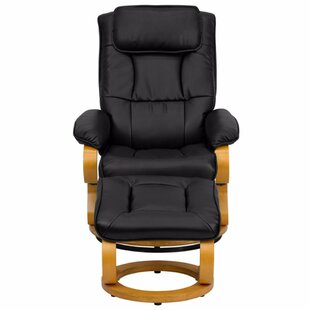 Lakehurst Manual Swivel Recliner With Ottoman by Red Barrel Studio