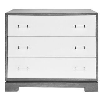 3 Drawer Accent Chest by Worlds Away SKU:DD695542 Shop