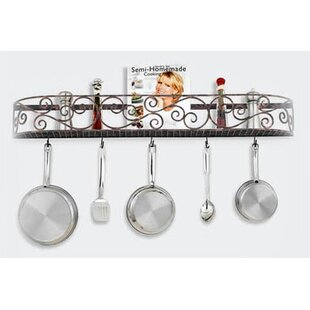 Authentic Iron Wall Mounted Pot Rack