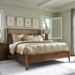 Kitano Mirah Upholstered Panel Bed by Lexington