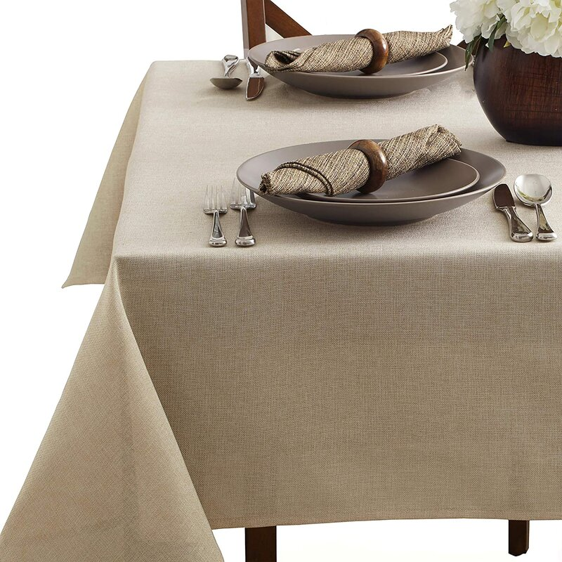 Gracie Oaks Perina Solid Color Tablecloth Wayfair