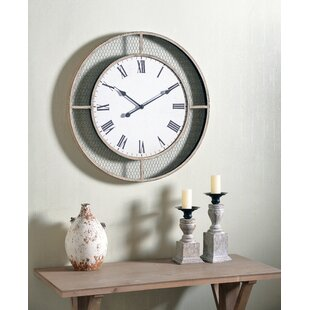 Chicken Wire Clock Wayfair