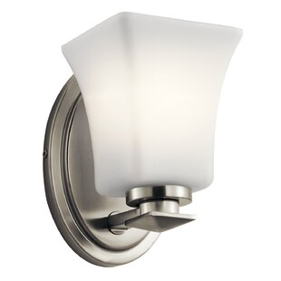 Vanscoy 1-Light Armed Sconce by Red Barrel Studio