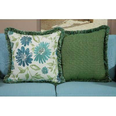 Encarnacion Large Indoor/Outdoor Sunbrella Throw Pillow by Darby Home Co Today Sale Only