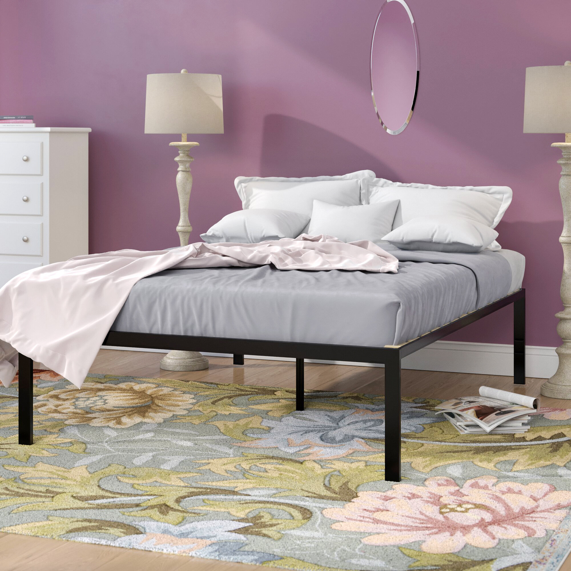 detailed look 5a561 442ba extra high bed frame You'll Love in 2019   Wayfair
