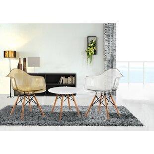 Porthos Home Mid-Century Mid-Back Morgan Chair (Set of 2)
