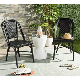Montura Stacking Garden Chair (Set Of 2) By Beachcrest Home