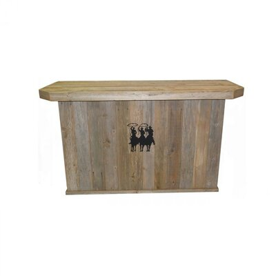 Holifield Rustic Home Bar by Millwood Pines Bargain