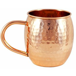 16 oz. Barrel Moscow Mule Mug (Set of 2)