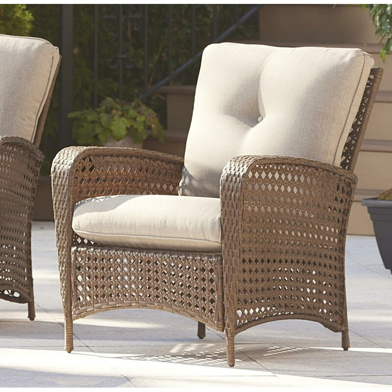 Highland Dunes Edwards Patio Chair With