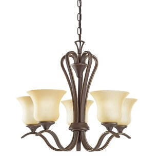 Barile 5-Light Shaded Chandelier by Alcott Hill