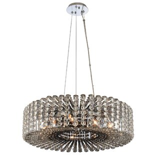 Anello 9-Light Crystal Chandelier by Alle..