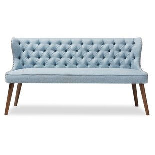 Wholesale Interiors Santo Wood Upholstered Loveseat