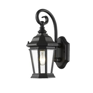 Bibb 1-Light Outdoor Wall Lantern By Fleur De Lis Living Outdoor Lighting