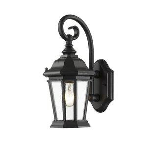 Best Reviews Bibb 1-Light Outdoor Wall Lantern By Fleur De Lis Living