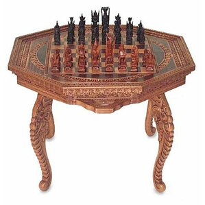 Into Battle Wood Chess Set