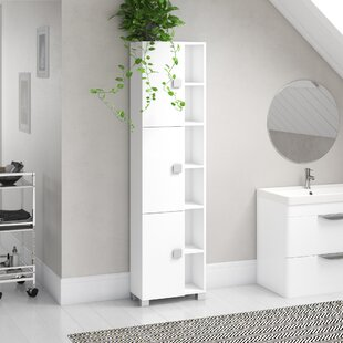 Cuthbert 45 X 168cm Free-Standing Tall Bathroom Cabinet By Rebrilliant