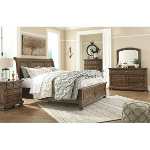 Penwortham Sleigh Configurable Bedroom Set by Three Posts Savings