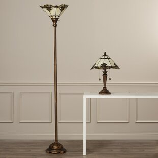 Savill 2 Piece Table and Floor Lamp Set