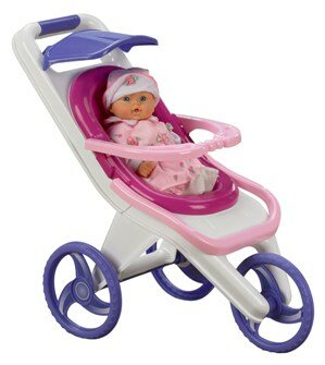 3 In 1 Stroller American Plastic Toys