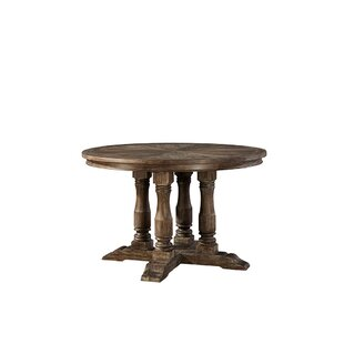 Gracie Oaks Jepson Solid Wood Dining Table