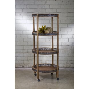 Natalee Etagere Bookcase by Astoria Grand New