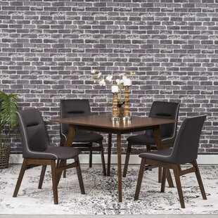 Phyllis 5 Piece Dining Set Wrought Studio