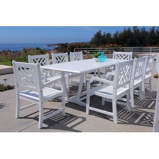 Darby Home Co Mahler 9 Piece Dining Set