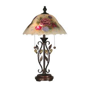 Reynolds Crystal Leaves 23.5 Table Lamp