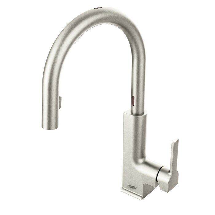 Sto Pull Down Touchless Single Handle Kitchen Faucet