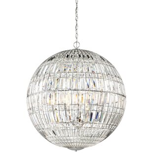 Palermo 8-Light Crystal Chandelier by Min..