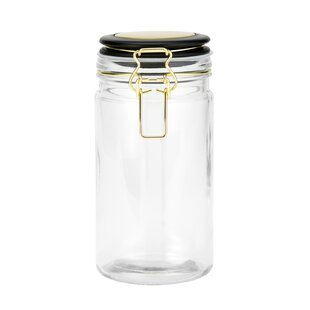 Hermetic Glass Kitchen Canister