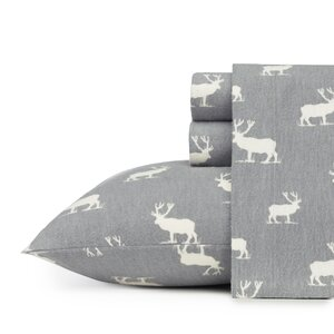Elk Grove 100% Cotton Flannel Sheet Set