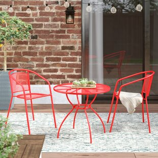 Walker 3 Piece Bistro Set