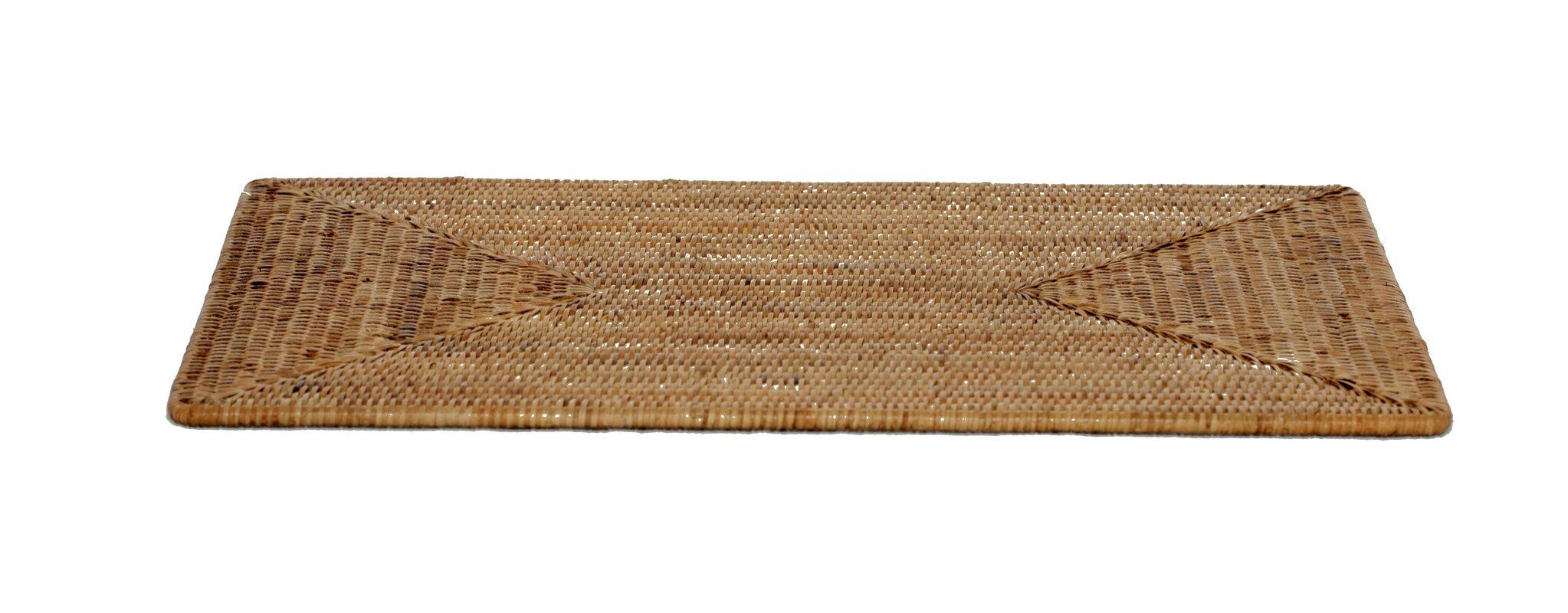 Rattan Large Rectangular Placemat