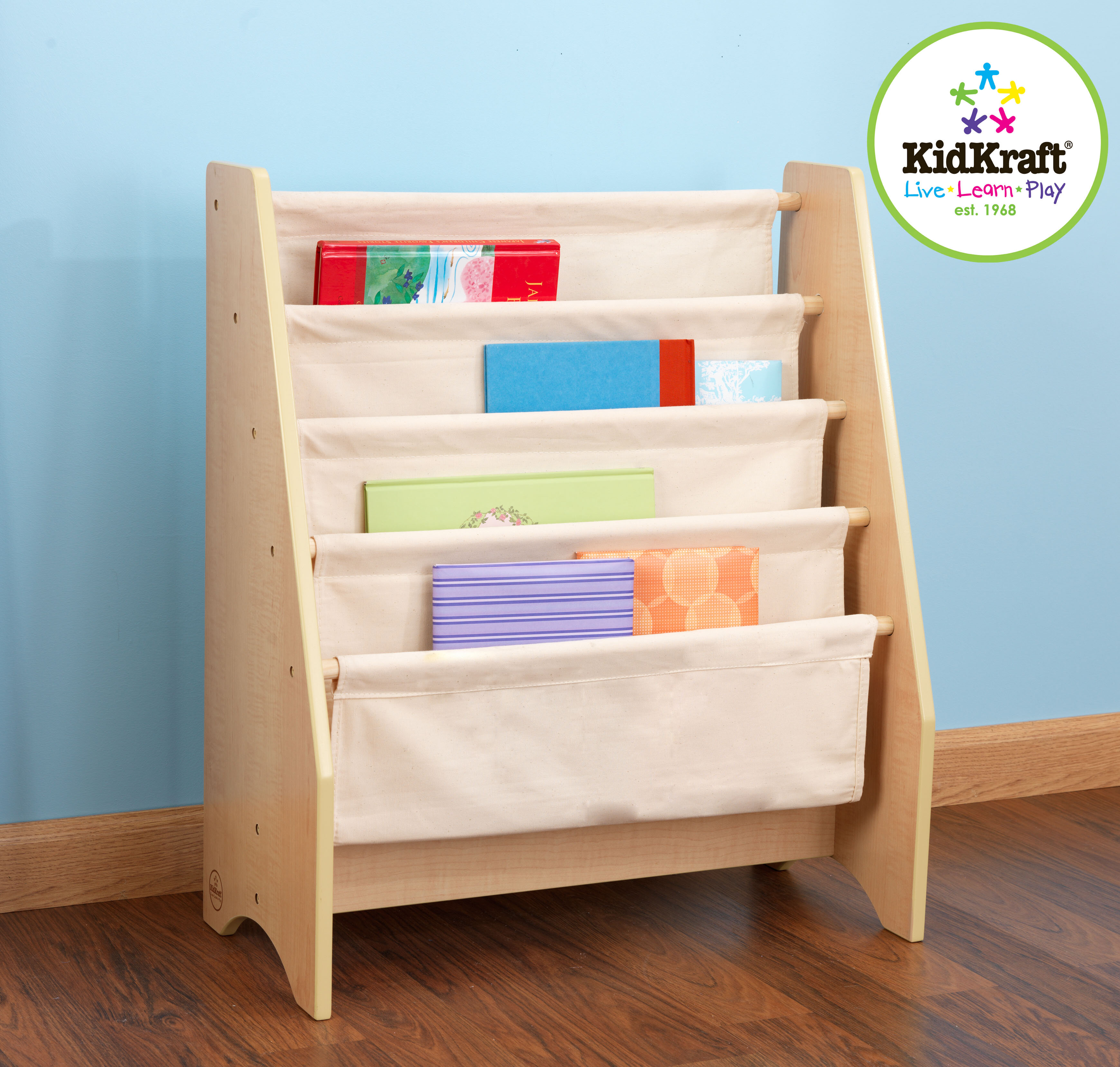 KidKraft Personalized Sling 4 Compartment Book Display Reviews