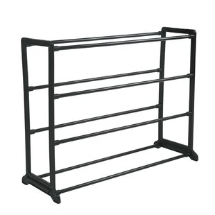Online Reviews Burrier 12 Pair Shoe Rack By Rebrilliant