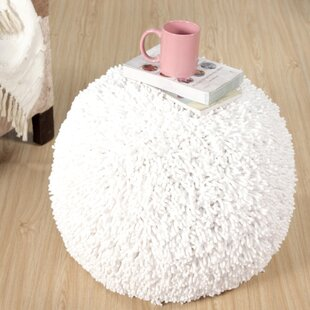 Daniella Shaggy Pouf by Turn on the Brights