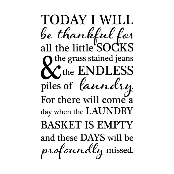 Belvedere Designs Llc Today I Will Be Thankful Wall Quotes Decal