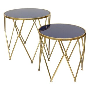 Knight 2 Piece End Table Set by Selectives
