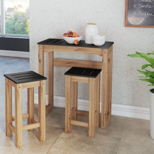 Wiggin 3 Piece Pub Table Set (..