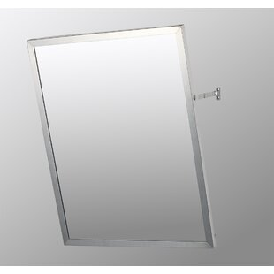 Check Prices Gus Edge Mirror Door 30 x 24 Surface Mount Frameless Medicine Cabinet with 4 Adjustable Shelves ByEbern Designs