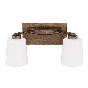 Laurel Foundry Modern Farmhouse Castle Rock 2-Light Vanity Light