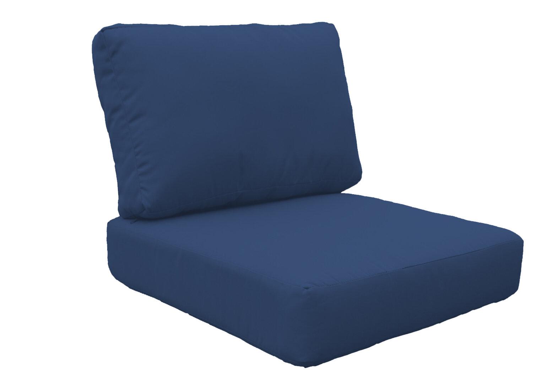 High Back Chair Cushion Cover