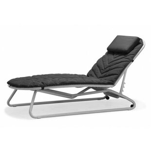 South Sunbed Chaise Lounge with Cushion by 100 Essentials