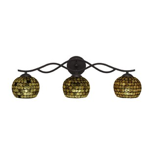 Latitude Run Nikolai 3-Light Vanity Light